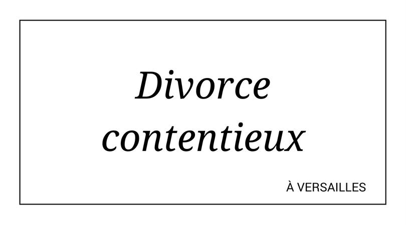 Chercher un avocat spécialisé en divorce contentieux